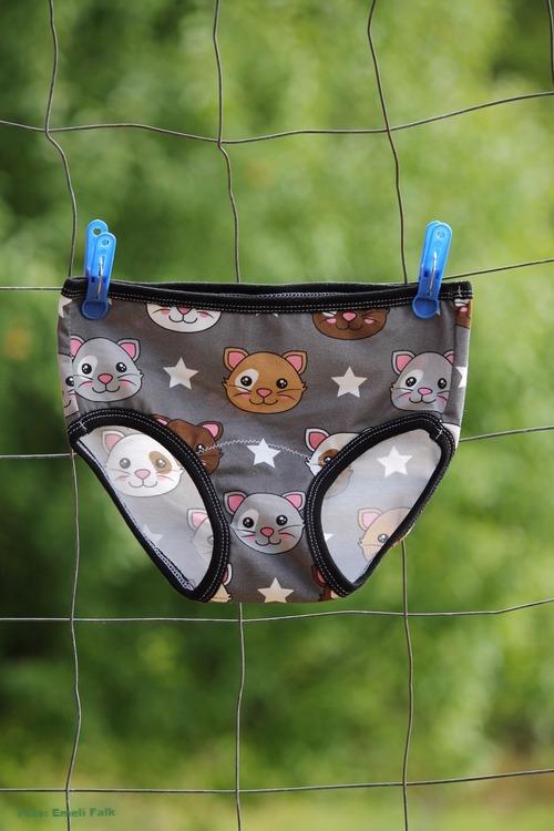 Unisex underkläder, katt