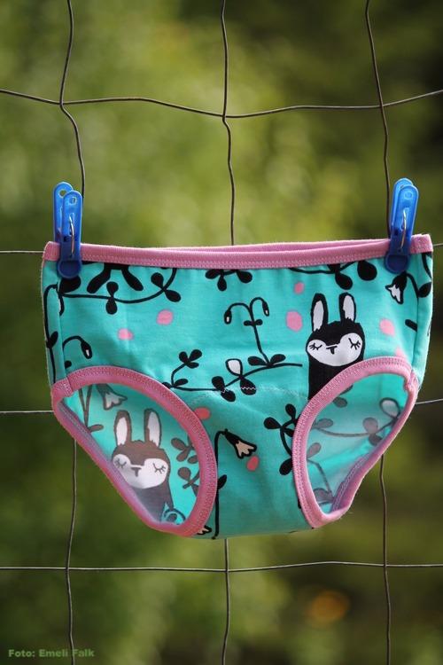 Unisex underkläder, blomklockor