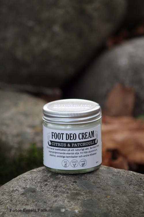 Fot deo cream, citrus & patchouli