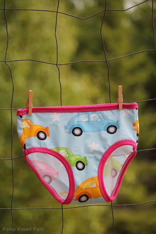 Unisex underkläder, bilar