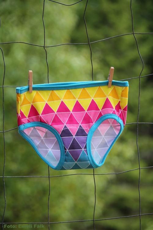 Unisex underkläder, färgglad