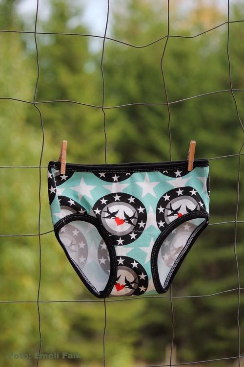 Unisex underkläder, svalor