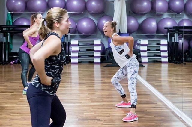 Gymping Söndag med Susan Lanefelt