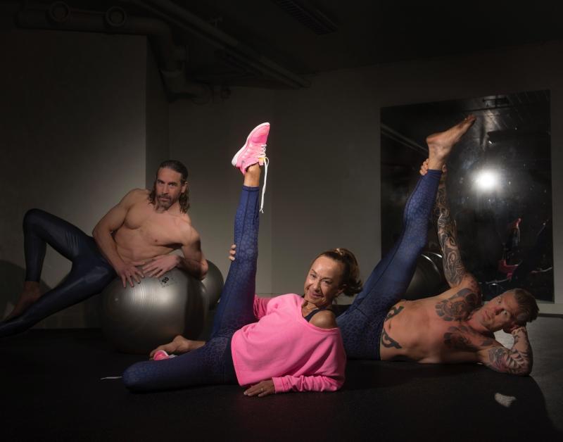 Gymping, yoga & tyngdlyftning!