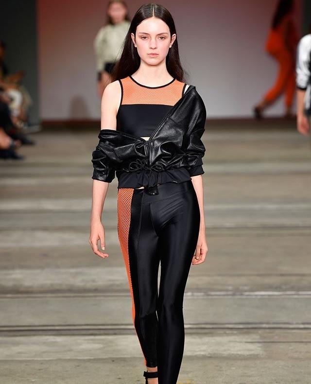 Koral activewear på Mercedes benz fashionweek