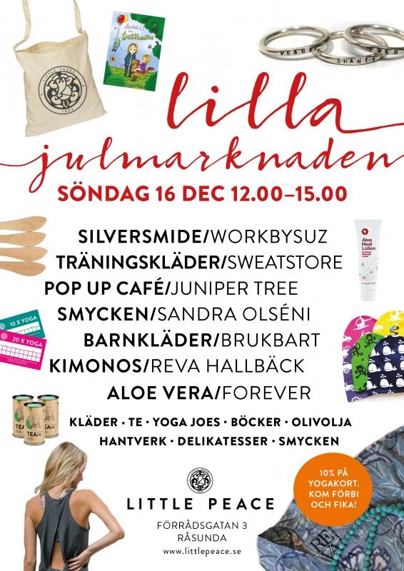 LUCKA 9: Julmarknad på Little Peace