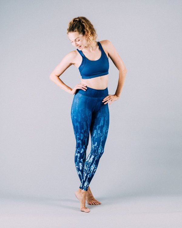 Vie active, Rockell leggings Blue mist ombre