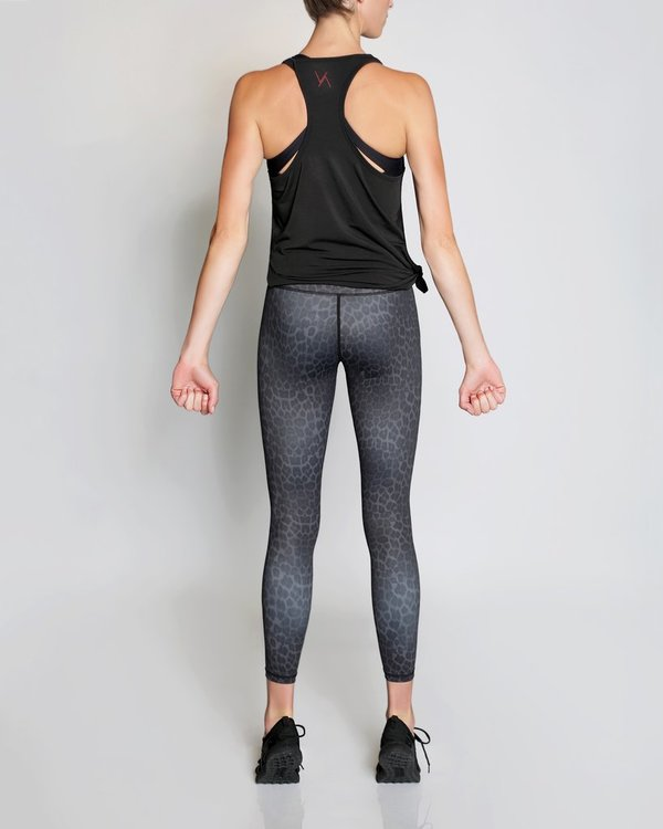 Vie Active, Rockell 7/8 leggings Black leopard