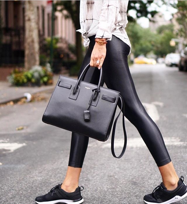 Koral activewear, Lustrous high rise leggings Black