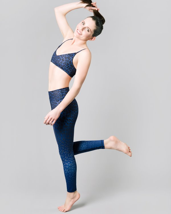 Vie active, Rockell 7/8 leggings Navy leopard