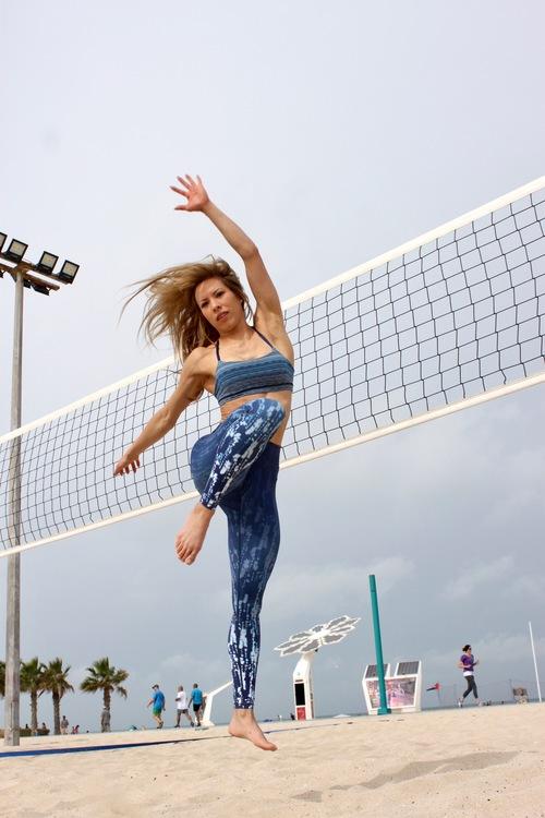 Vie active, Rockell leggings Blue mist ombre