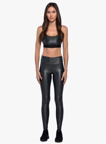 Koral activewear, Lustrous high rise leggings Gunmetal
