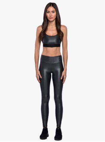 Koral activewear, Lustrous high rise leggings Gunmetal