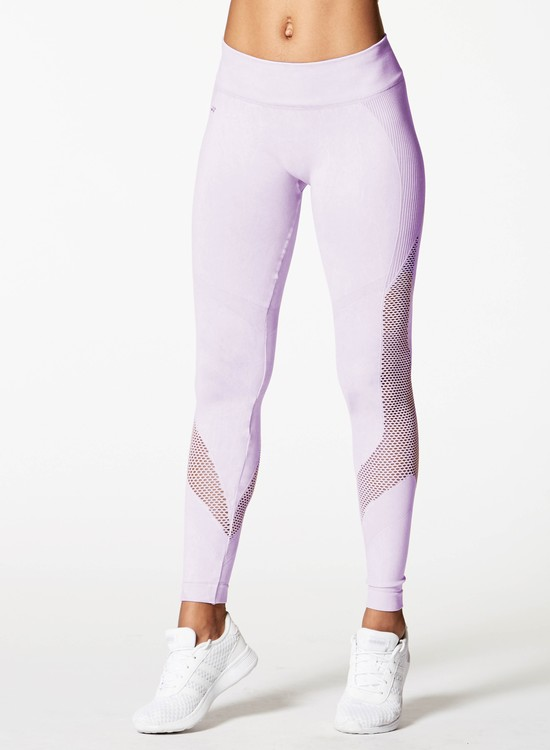 NUX, Mineral wash Network legging Washed Orchid