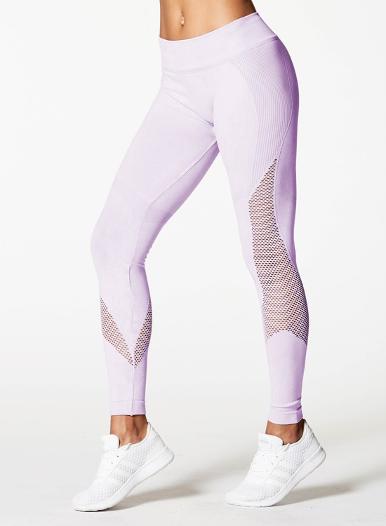 NUX, Network legging Mineral wash orchid wash