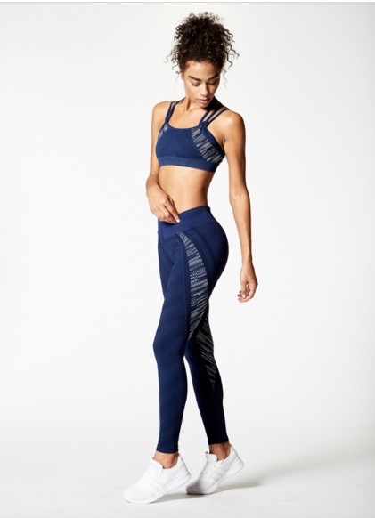 NUX, In a row leggings Navy