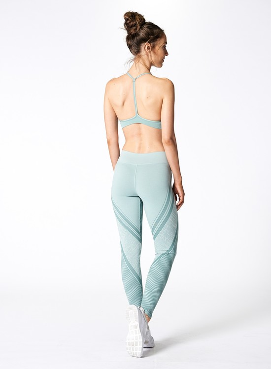 NUX, In a row leggings Sage