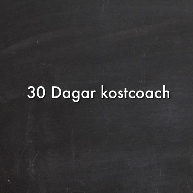 30 Dagar kostcoach