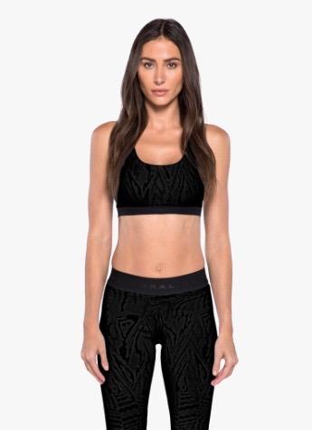 Kopi Korals activewear, Tax Galaxy sport bra