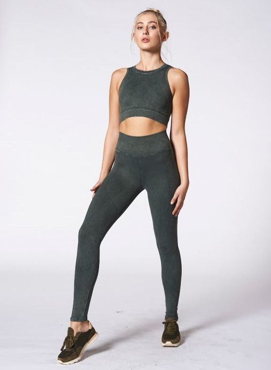 NUX, One by one legging Forest green