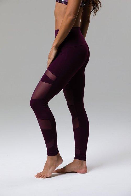 Onzie, High Rise Bondage leggings Aubergine