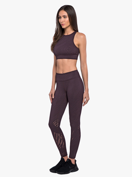 Koral activewear, Drive High-rise leggings Plum