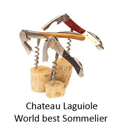 chateau laguiole vinöppnare sommelier korkskruv