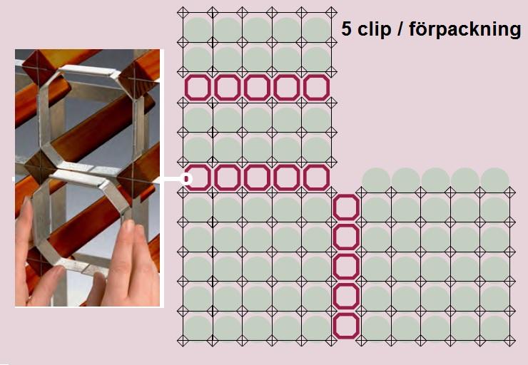 Clip för vinstället RTA