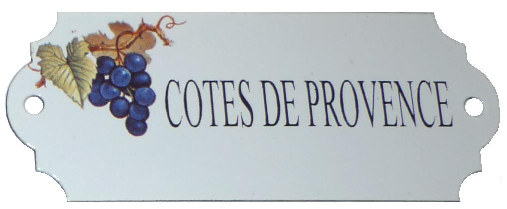 Emaljskylt Cotes De Provence