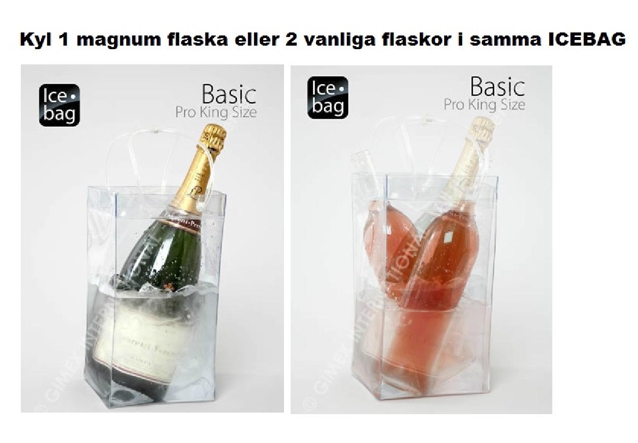 Vinkylare för 1 magnum Ice Bag