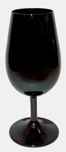 Iso glas svart