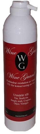 Vingas för öppnade vinflaskor WIne Guard