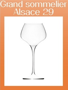 Vinglas Grand Sommelier Alsace från Lehmann 29 cl