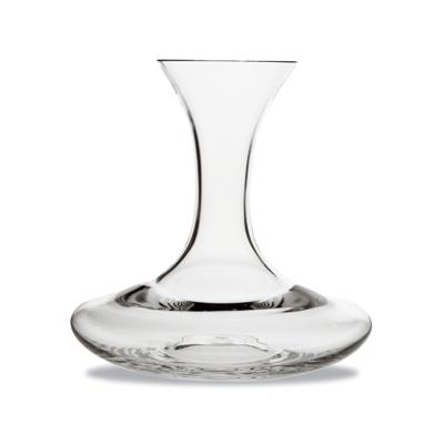 Vinkaraff med bred botten munblåst kristall