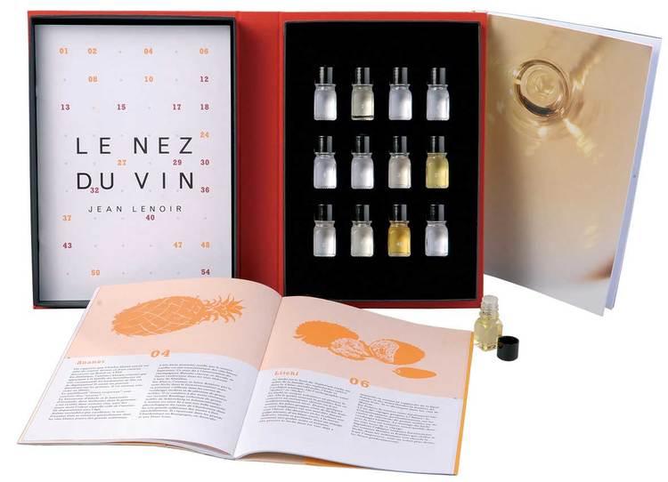 Nez du Vin doftaromer vita viner / champagne
