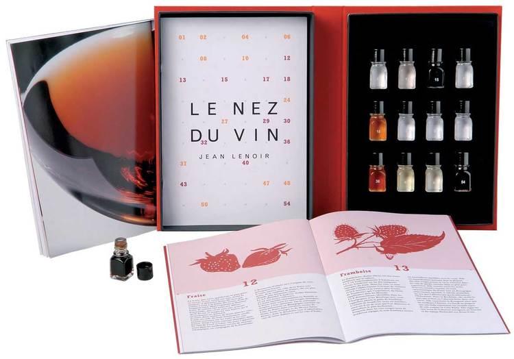 Nez du Vin doftaromer röda viner