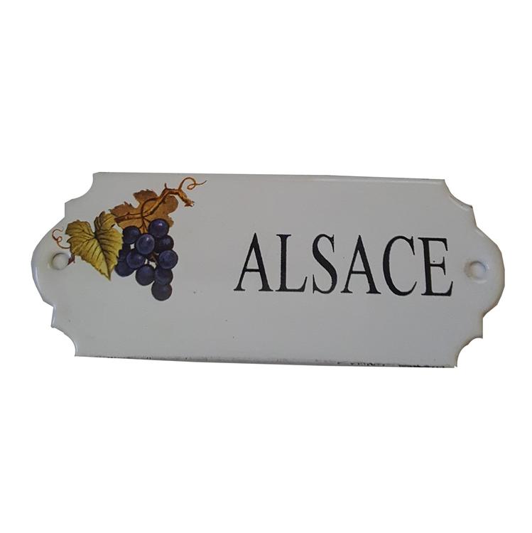 Emaljskylt Alsace