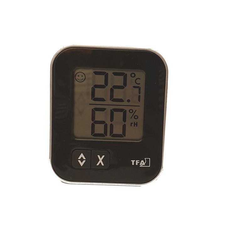 Digital liten termometer och hygrometer