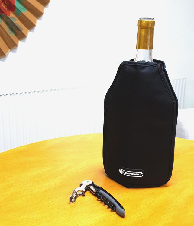 Vinåpåse som kyler - Kylpåse för vinflaskor