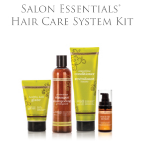 Salon Essentials® Hair Care System Kit