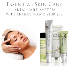 Essential Skin Care - Skin Care System with Anti-Aging Moisturizer