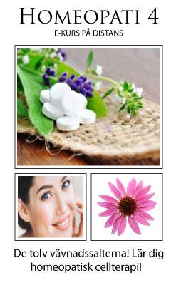 E-kurs Homeopati & Energimedicin Steg 4