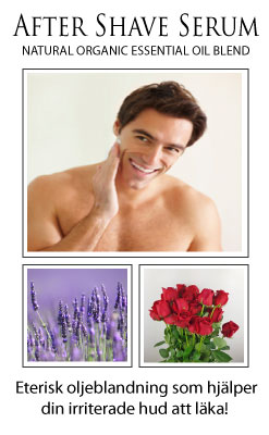 After Shave Serum - natural organic essential oil blend