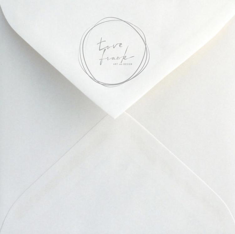 """Lai"" Folded card 15x15cm"