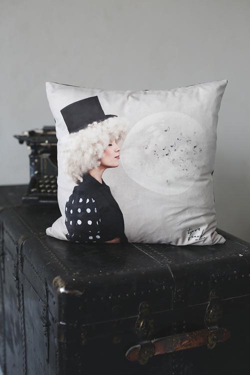 Livet, pillowcase velvet 47x47 cm
