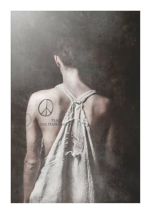 21x30 print Peace