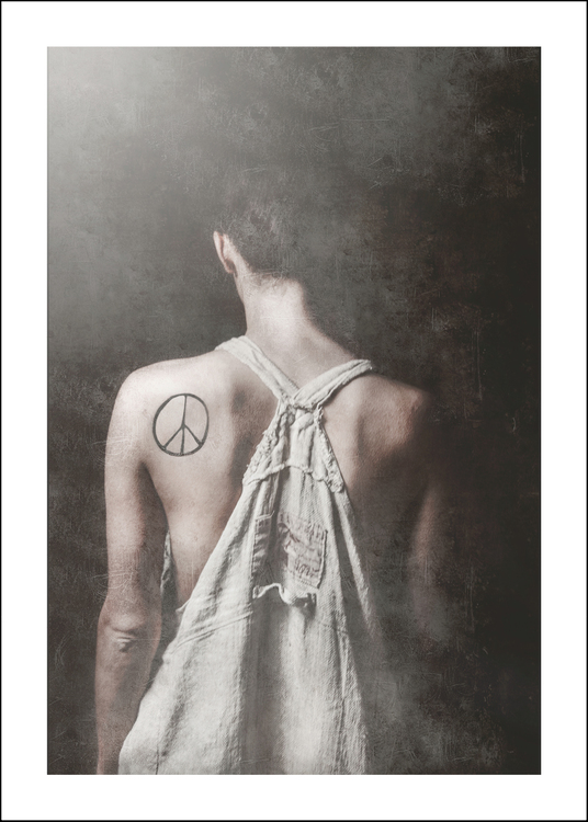 PEACE - Art print 50x70 cm - Limited Edition