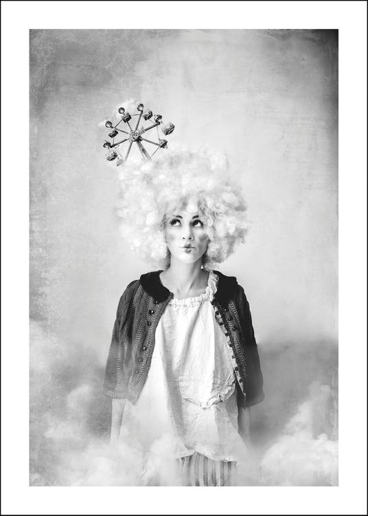 Calliope, art print 50x70 cm