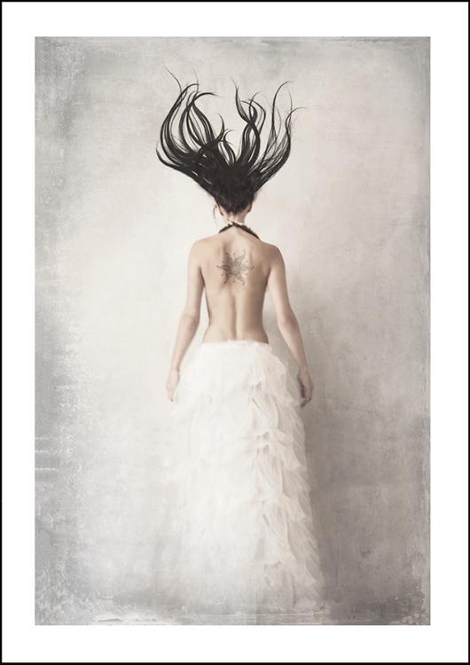 Minadela, art print 50x70 cm