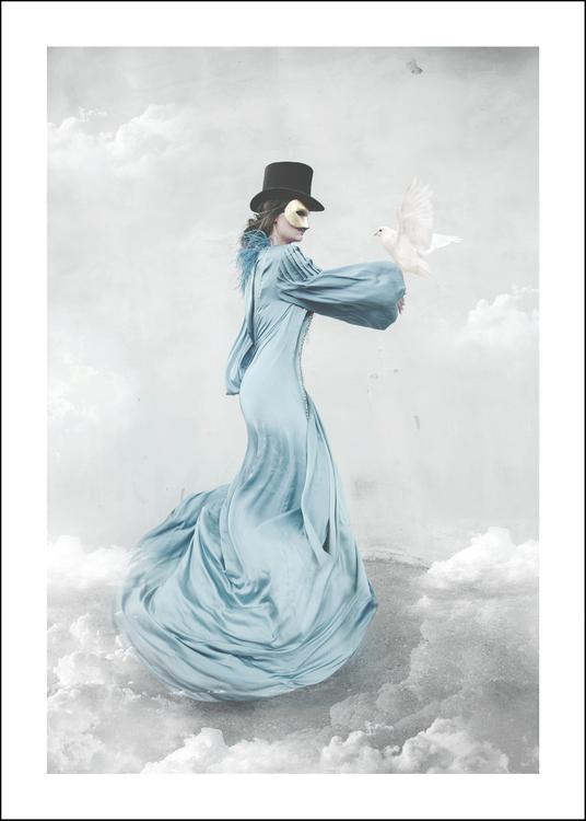 Cieli, art print 50x70 cm